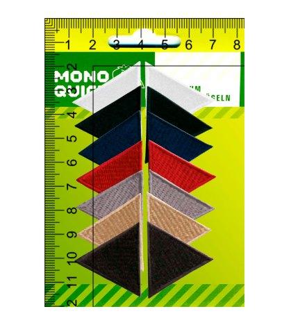 Термоаппликация<br>MQ-MD-2019<br>Заплатки треугольник</br>