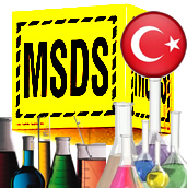 Turkish chemical regulations MSDS