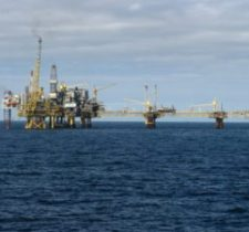 North Sea Oil rig  XS