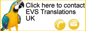 contact EVS Translations UK