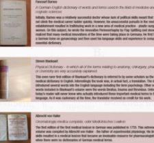 evs museum medical pharma dictionaries