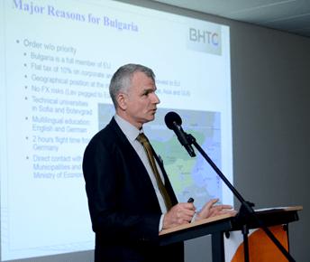 Martin Nyland CEO BHTC