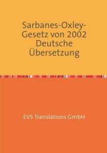 La traduction allemande de la loi Sarbanes-Oxley-Act - EVS Translations