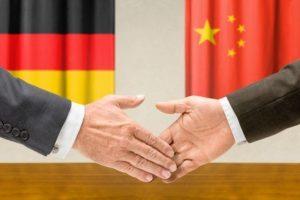 Кисело зеле в моя Чап чой - китайски компании в Германия