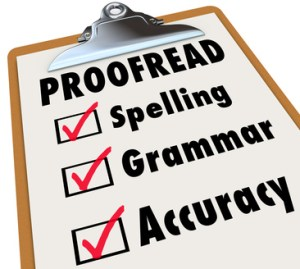 Proofreading as a Business Service