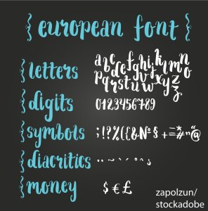 Diacritic – Word of the day – EVS Translations