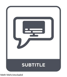 Subtitles – Word of the day – EVS Translations