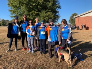 "EVS Translations joins this year's ""Dogs on the Run"" 5K"