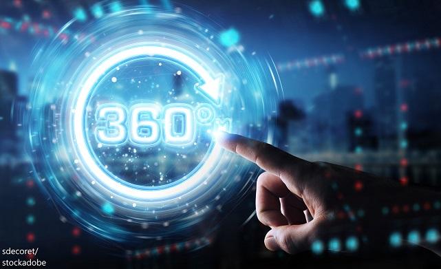 360-Grad-Videoinhalt