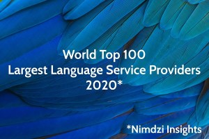 EVS Translations вече е в Топ 100 на Nimdzi за най-големите доставчици на езикови услуги в света