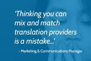 3 причини, поради които централизираното търсене на преводи чрез един доставчик на езикови услуги помага на фирмата да извлече по-голяма стойност от разходите за превод