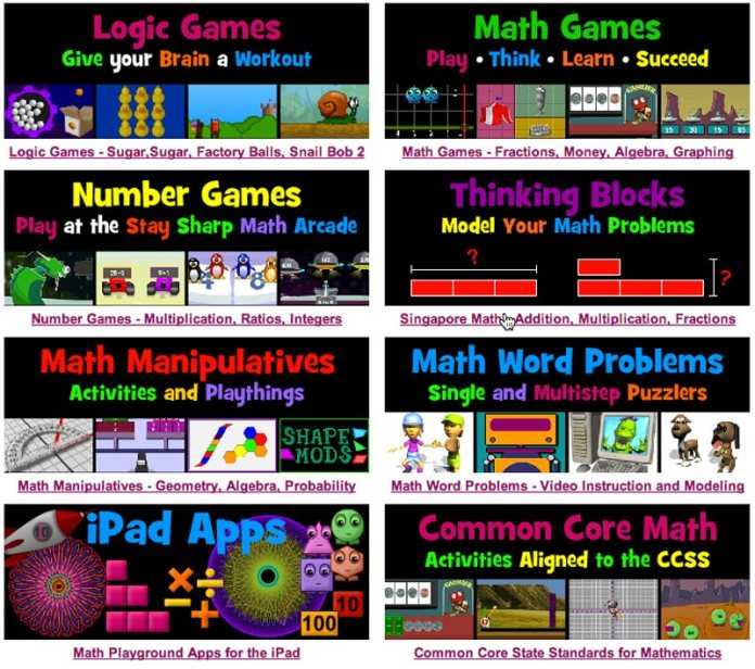 Math Playground Home Page