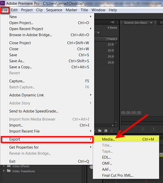Export MP4 Video for YouTube & Vimeo | Adobe Premiere Pro