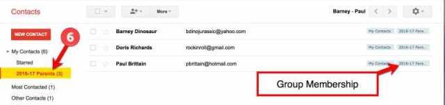 Google Contact Groups - Step 6