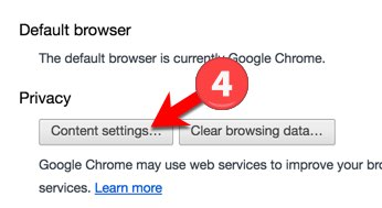 Turn off google default program - Step 4