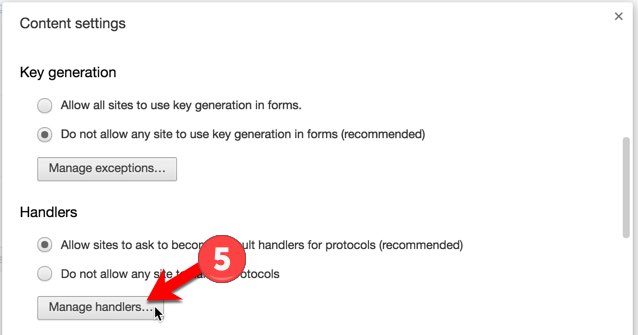 Turn off google default program - Step 5
