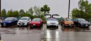 EVS Kawartha - group of EVs