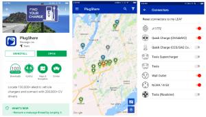 10 NissanConnect PlugShare app