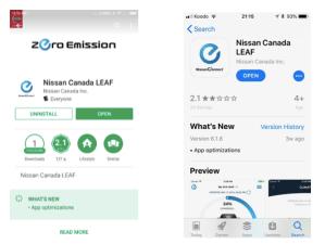 6 Nissan Canada Leaf app2