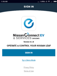 7 NissanConnect sign in