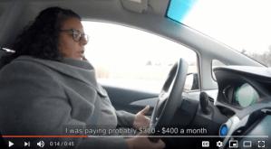 Amisha Hiebert 140km commute for $25
