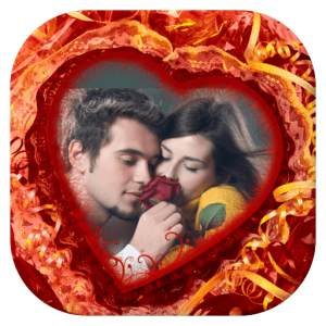 Romantic Love Photo Frames Icon