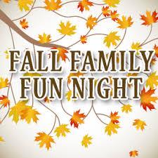 fall family fun night raffle donations