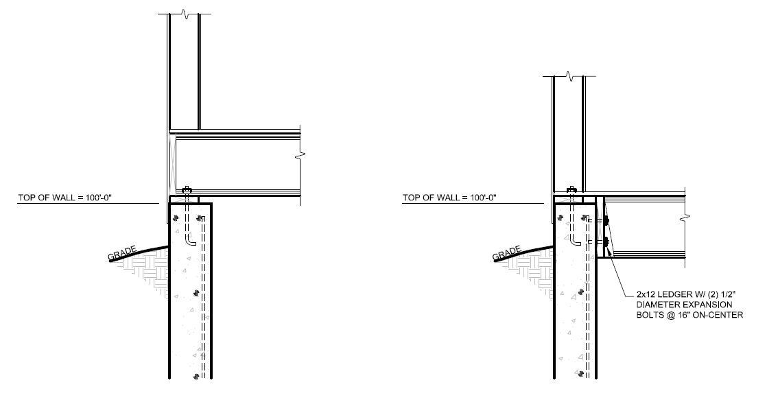 EXPANSION ANCHOR DETAIL — EVstudio, Architect Engineer
