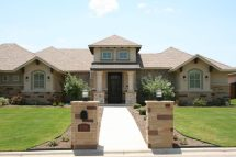 Stone and Stucco Homes Texas
