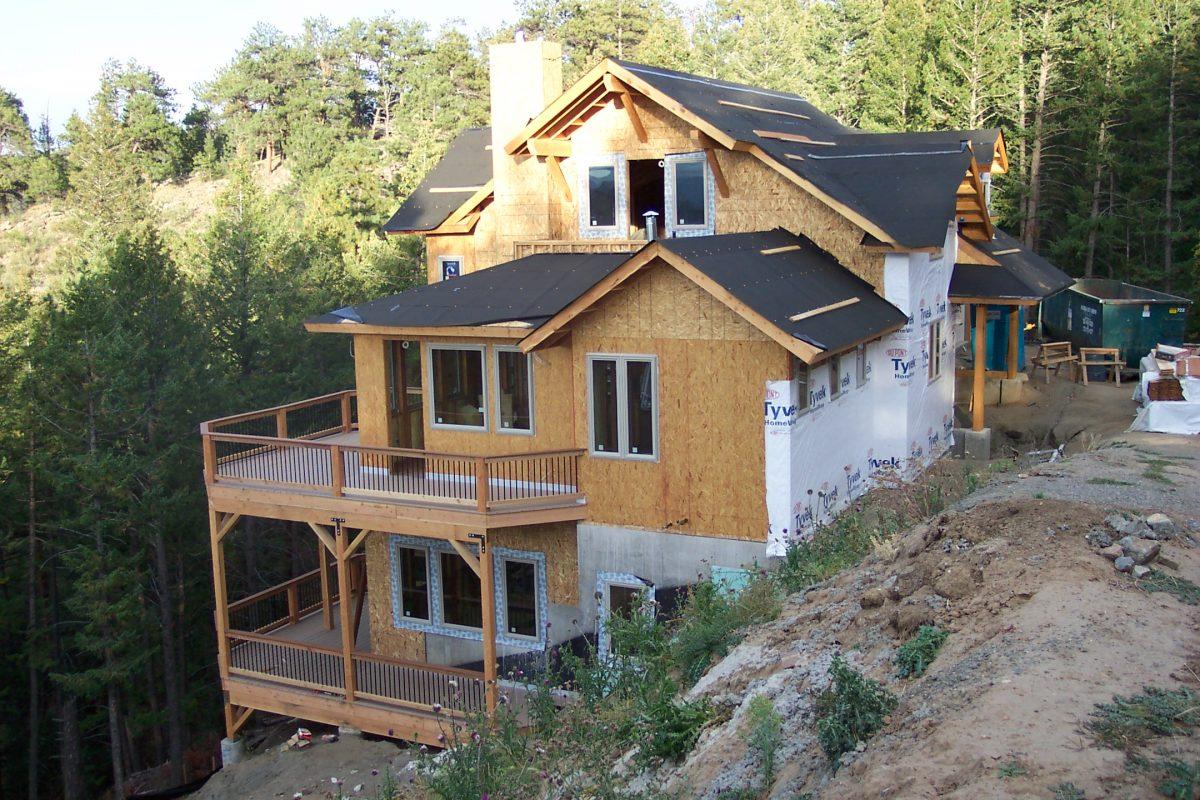 Steep Mountain Modern Home