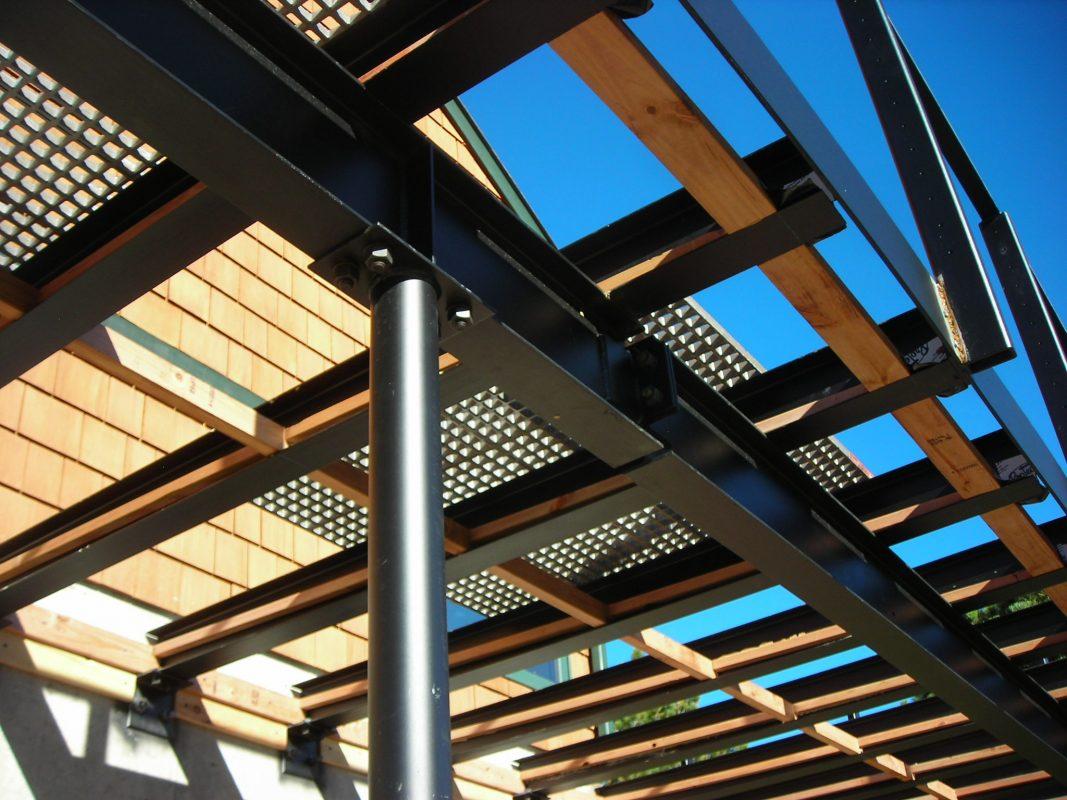 Steel Deck Design  Noncombustible Materials  EVstudio Architect Engineer Denver Evergreen