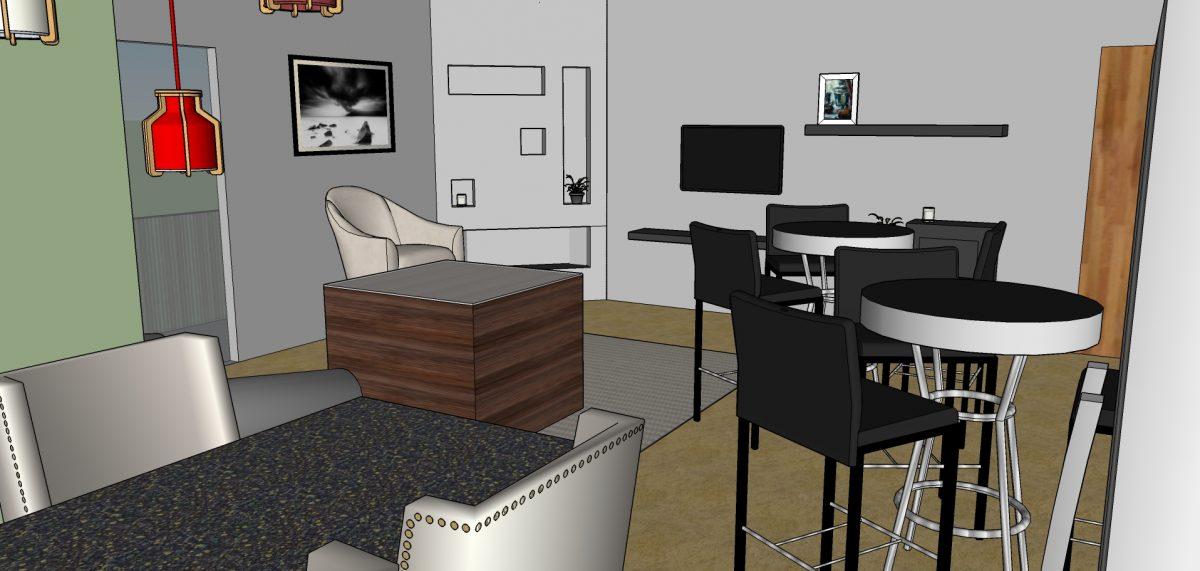 SXSW Office Layout SketchUp Model  EVstudio Architect