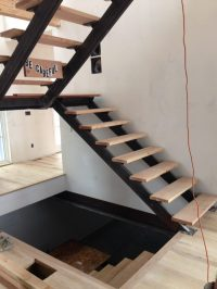 A Structural Gem: Custom Steel Staircase Nearly Complete ...