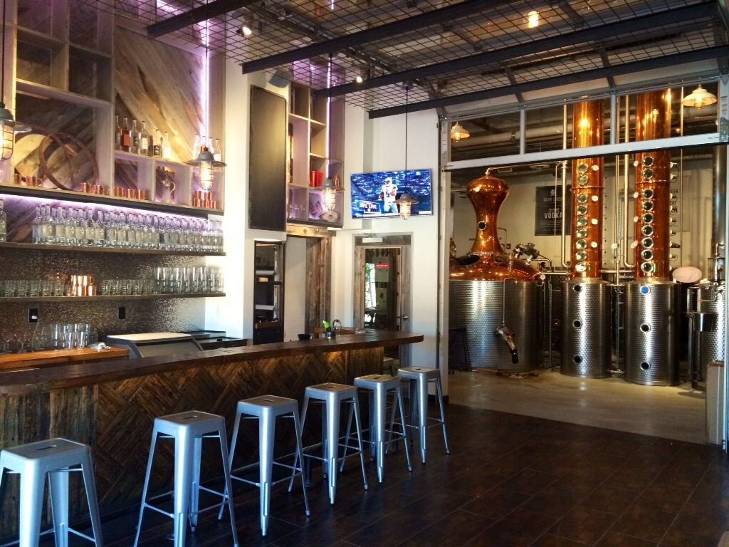 Distillery Interiors to Create Atmosphere and Profits