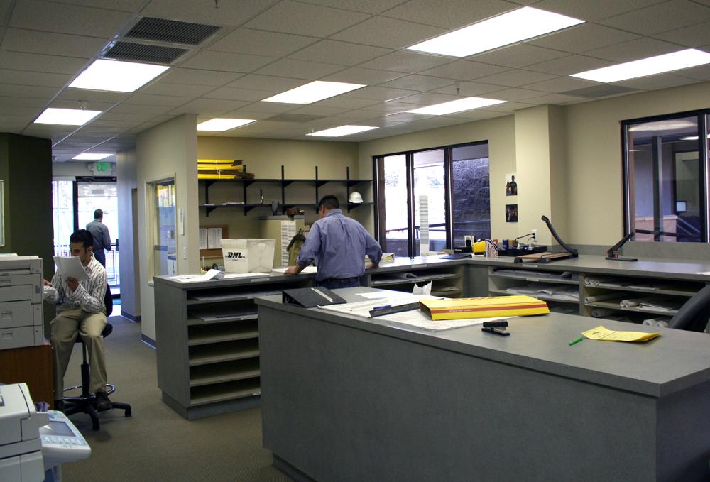Catamount Constructors Estimating Department Office