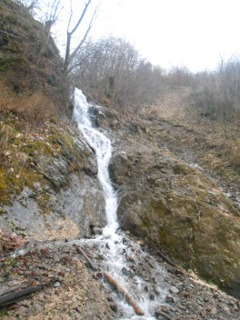 Waterfall in the near of Viseu de Sus