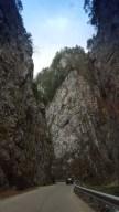 Road between Bran and Pitesti
