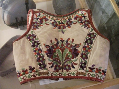 Székely Nemzeti Múzeumban található Felsőrákosi bunda lajbi háta