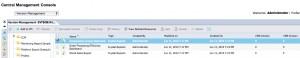 Version Management Application Panel