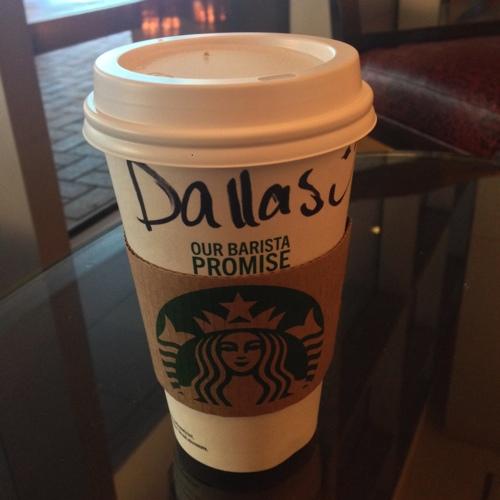 The Best Ingredients - Starbucks cup
