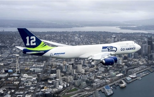 Seattle Seahawks Boeing 747 ASUG Pacific Northwest