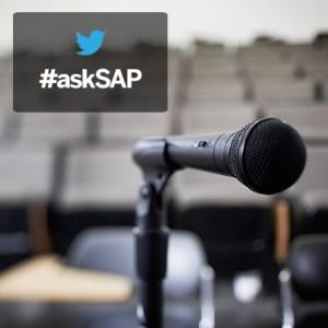 #askSAP webcast image
