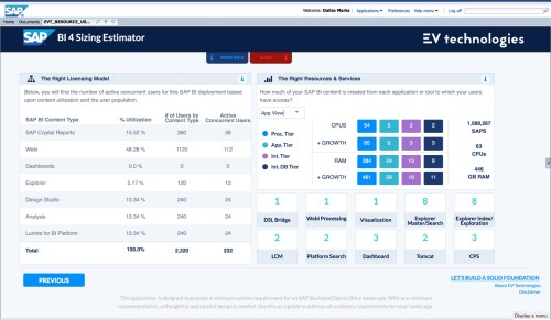 EV Technologies Sizing Estimator (full size)
