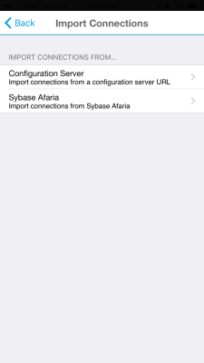 Mobile BI 6.4 Configuration Server