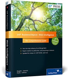 SAP Press Web Intelligence 3rd Edition Book Cover
