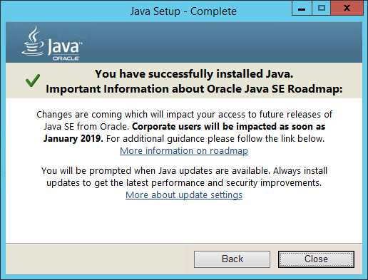 Web Intelligence Users - It\u0027s Time To Unplug Java - EV Technologies