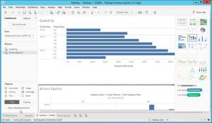 Tableau Dashboard based on SAP HANA data