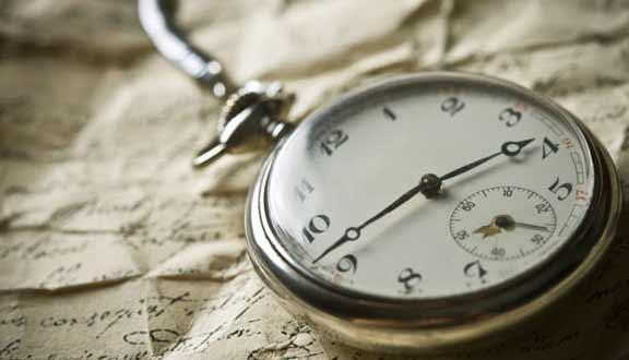 стар и красив джобен часовник