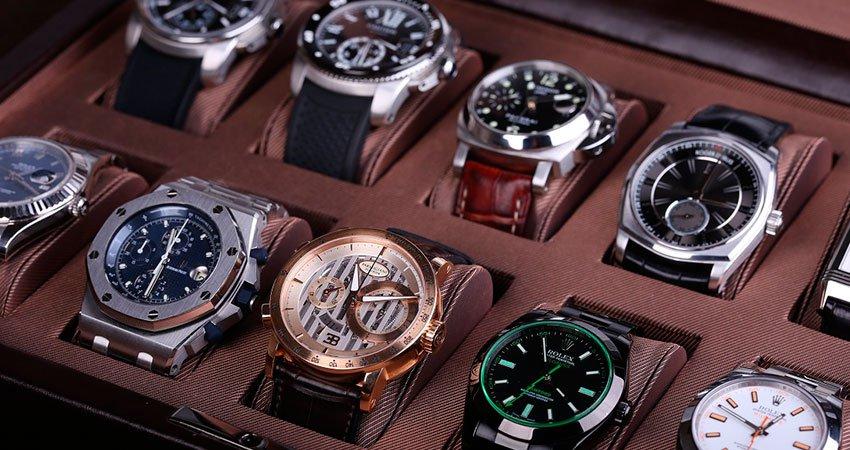 кутия за съхранение на луксозни часовници