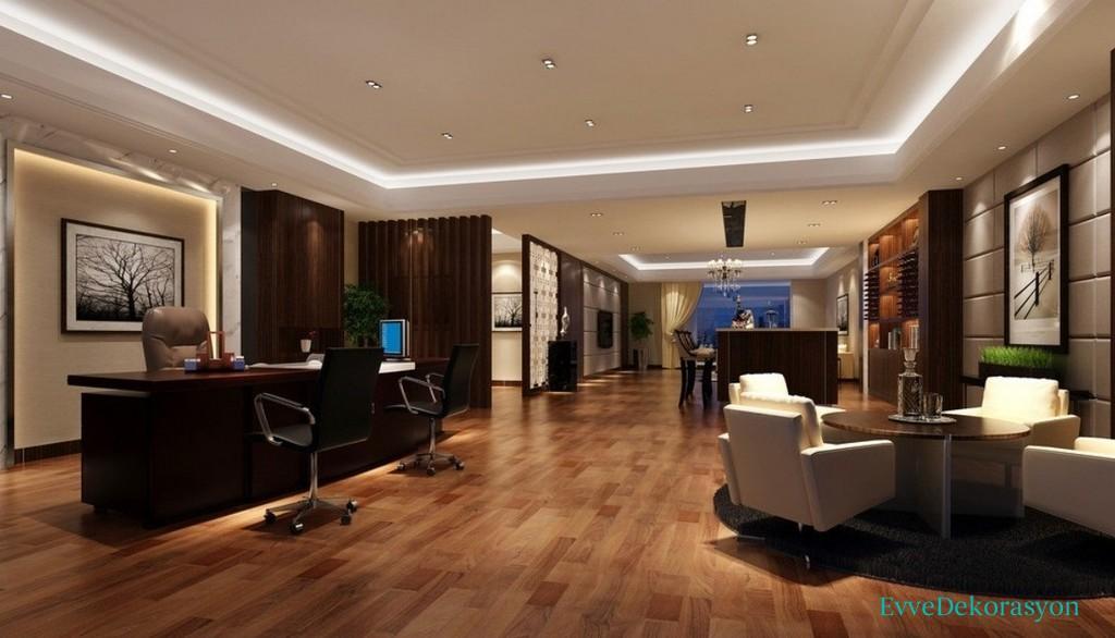Home Office Alpan Tavan Modeli  Ev Dekorasyonu